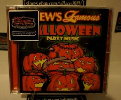 Halloween Party Music - Various Artists (NEW CD) FREE - Halloween 2017 New Album