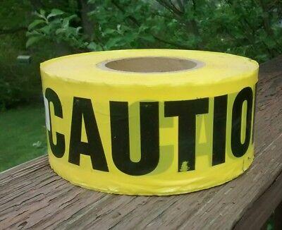 Yellow Barricade Caution Tape 3 X 1000 -constructionpoliceems