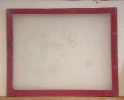 "Screen Printing Frames 24"" x 19"".(USED)."