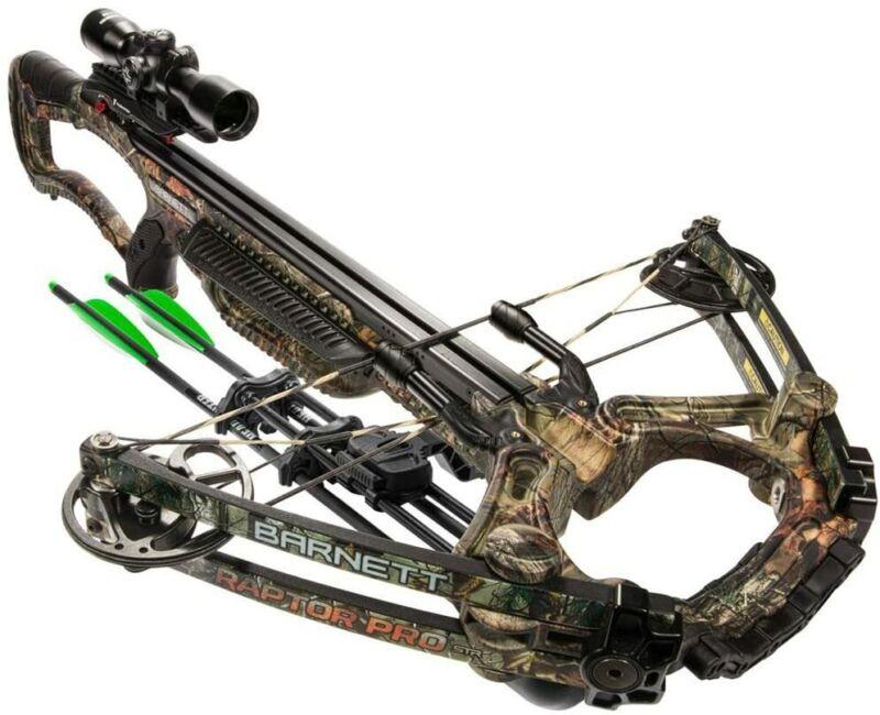 Barnett BAR78005, Raptor Pro str Crossbow Realtree Camo