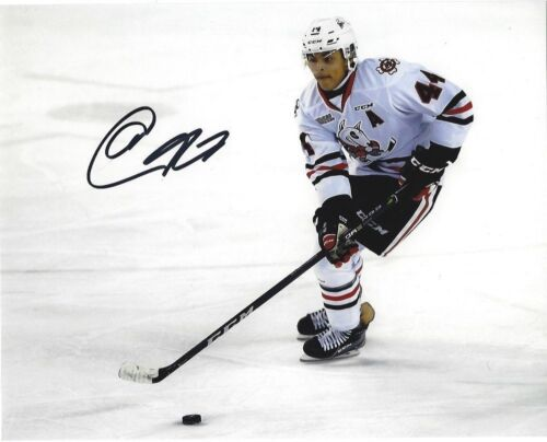 Niagara Ice Dogs Akil Thomas Autographed Signed 8x10 Photo COA A