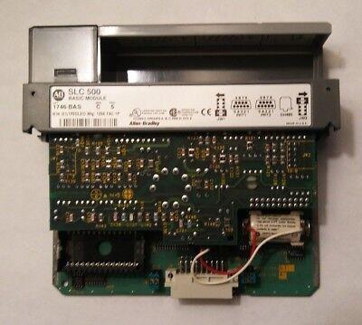 1746-bas Allen Bradley Series C Slc-500 Basic Module 1746bas