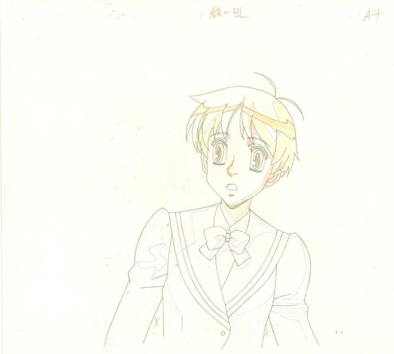 Anime Genga not Cel Escaflowne #61