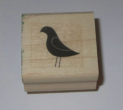 Bird Stampin' Up! Rubber Stamp Animals Birds Wood Mounted