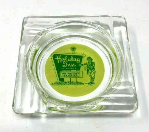 Holiday Inn Hotel Motel Cigarette Tobacco Innkeeper Ashtray 1970