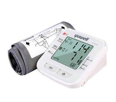Yuwell Automatic Digital Lcd Arm Cuff Blood Pressure Monitor Sphygmomanometer