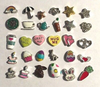 Floating Charms to fit Origami Owl #10 Buy 4 Get 1 Free