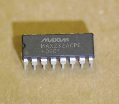 Max232acpe Rs232 Multichannel Driver Receiver Maxim Max232