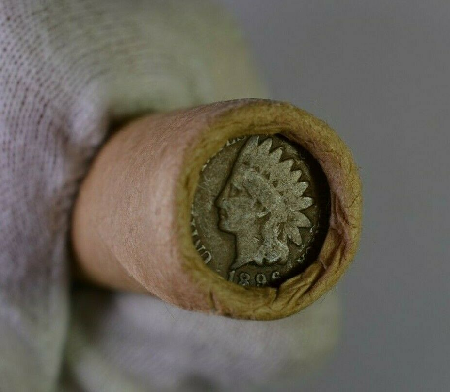 Best  INDIAN HEAD END WHEAT CENT ROLL OLD COINS VINTAGE - 50 COINS!