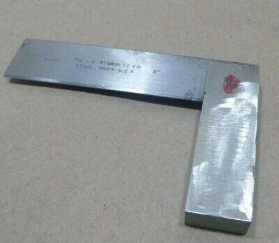L.s. Starrett No. 55 Master Precision Square 3 Made In Usa