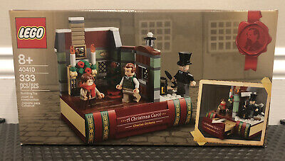 LEGO 40410 CHARLES DICKENS TRIBUTE 2020 CHRISTMAS GWP IN-HAND & FREE SHIPPING