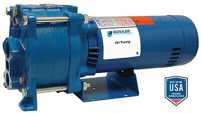 Goulds Hsj10n 1hp Convertible Water Well Jet Pump 115230v