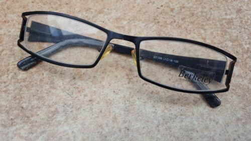 Seitlich Randlos  Brillengestell Berkeley & son B 3059 51-18-135 ☆☆☆ Schwarz