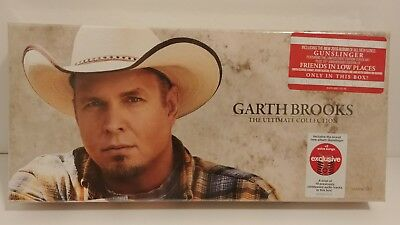 NEW Garth Brooks The Ultimate Collection, Target Exclusive, 10 Disc Box CD Set
