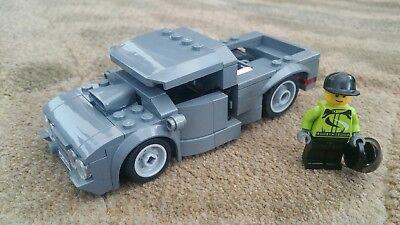 Truck /& Envelope. Lego Custom City USPS Mail Delivery set MailMan minifig