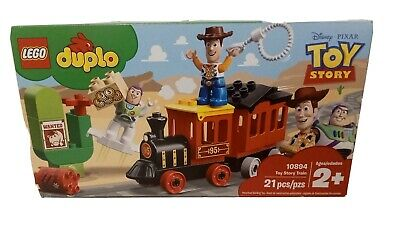 Toy Story Train Railway Building Set With Woody Buzz Pals Toddler Christmas Gift
