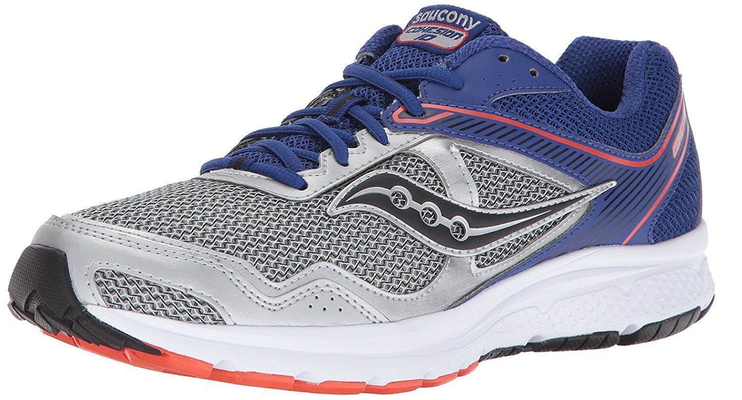 Saucony Men's Silver Blue Grid Cohesion 10 Running Runners S