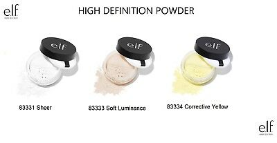 Elf High Definition Translucent Loose Face Powder Makeup Beauty Quality