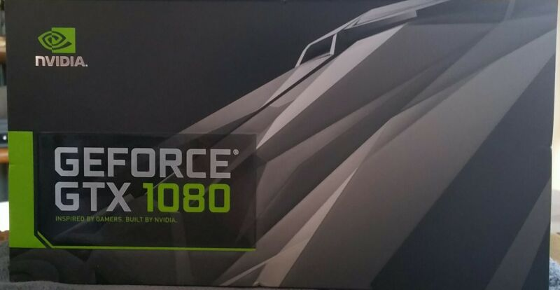 NVIDIA GeForce GTX 1080 8GB Graphics Card