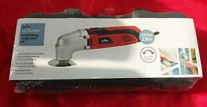 Wilkinson's (Wilko) 250w Oscillating Multi Tool Kit. Not Draper but compare.