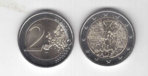 GERMANY NEW ISSUE BIMETAL 2 EURO UNC COIN 2019 YEAR 30th ANNI BERLIN WALL FALL