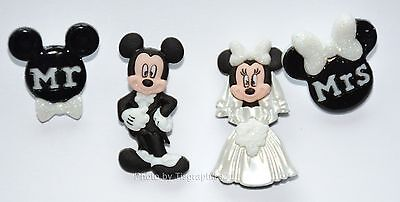 Mickey & Minnie Wedding / Disney License ~ Dress It Up / Mickey Mouse - Mickey Mouse Dressed Up