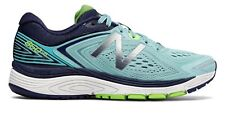 New Balance Female Women's 860V8 Running Shoes Sneakers Blue With Navy & Green