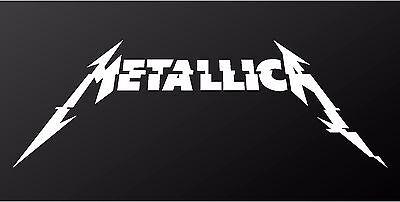 Metallica Hardwired New Album Logo Vinyl Decal Car Window Sticker Large Sizes