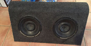 "Earthquake 10"" subs in box & US Audio 800W amp Coombabah Gold Coast North Preview"