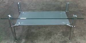 Brand New Modern Oblong Glass Coffee Table 110x60cm * G254 Thomastown Whittlesea Area Preview