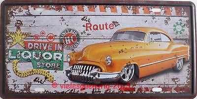 m - Drive In Liquor Store USA Route shabby Vintage (Schilde Store)
