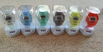 Vintage PEZ watch-choose from many different styles and colors.  New in package
