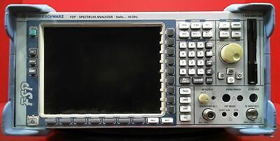 Rohde Schwarz Fsp38 Spectrum Analyzer 9khz To 40ghz