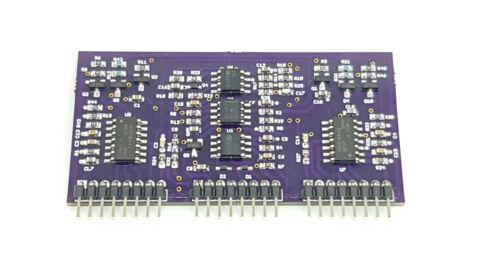 Car audio amplifier class D output driver board [DWM_FP] [ZNCP_HP]