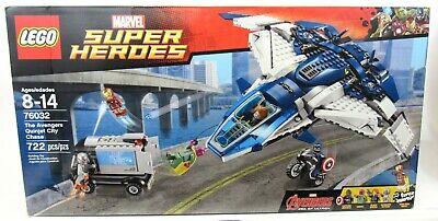 New Sealed LEGO 76032 Marvel The Avengers Quinjet City Chase 2015