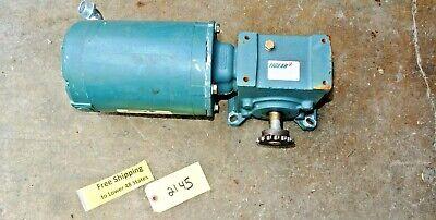 Reliance Electric Motor P56x1524r 13 Hp 1140 Rpm W Tigear 2 Reducer Freeship