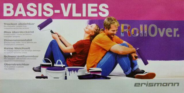 3333-5-12) 1 Rolle a 25m x 0,75 = 18,75m² Malervlies Renoviervlies Vlies 150g/m²