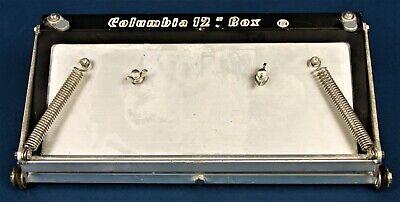 Columbia 12 Fat Boy Automatic Assist Drywall Flat Finisher Box