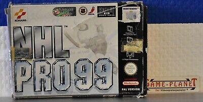 NHL Pro 99 Nintendo 64 OVP Konami Sportsimulation Eishockey 1-4 Spieler N64