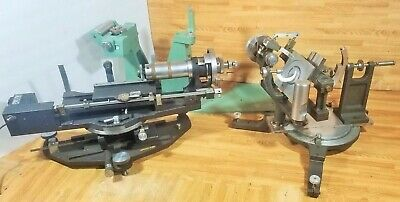 3-pcs Charles Supper Huber Goniometers X-ray Diffraction 1 Motorized