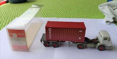 Wiking 526 MB Container Sattelzug 20 Fuß Cti OVP M1:87 Topp