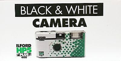 EINWEGKAMERA  ILFORD HP 5 PLUS  Schwarz/weiß 27 Aufn.   1 Kamera