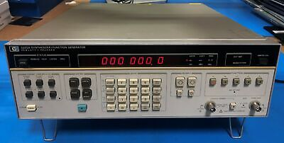 Hp Agilent 3325a Synthesizerfunction Generator