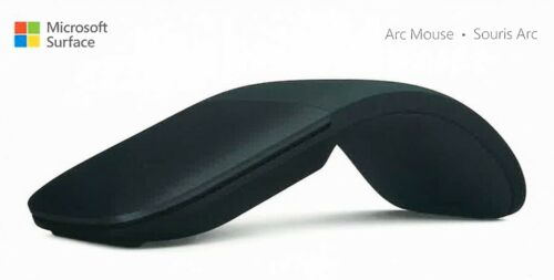 New Microsoft Surface Arc Touch Mouse Black FHD-00016