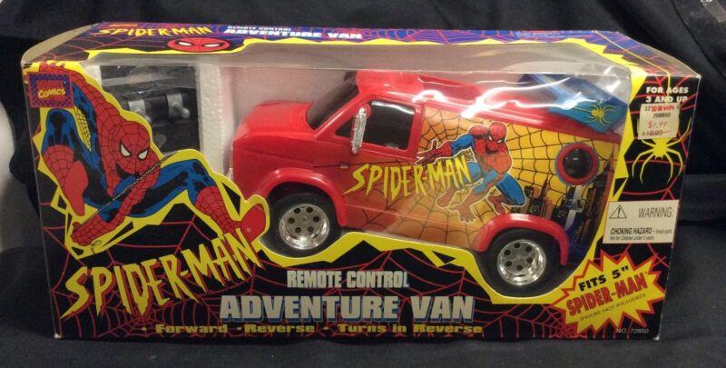 "1992 ToyBiz ""Spider-Man"" Remote Control Adventure Van MISB Marvel Comics"