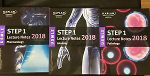 Kaplan usmle step 1 lecture notes 2018 four book