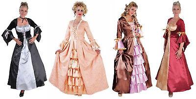 Rokoko Kleid Kostüm Gothic Barock Mittelalter Damen Prinzessin Rokokokostüm - Rokoko Kleid Kostüm