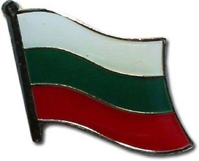 Wholesale Pack of 50 Bulgaria Country Flag Bike Hat Cap lapel Pin