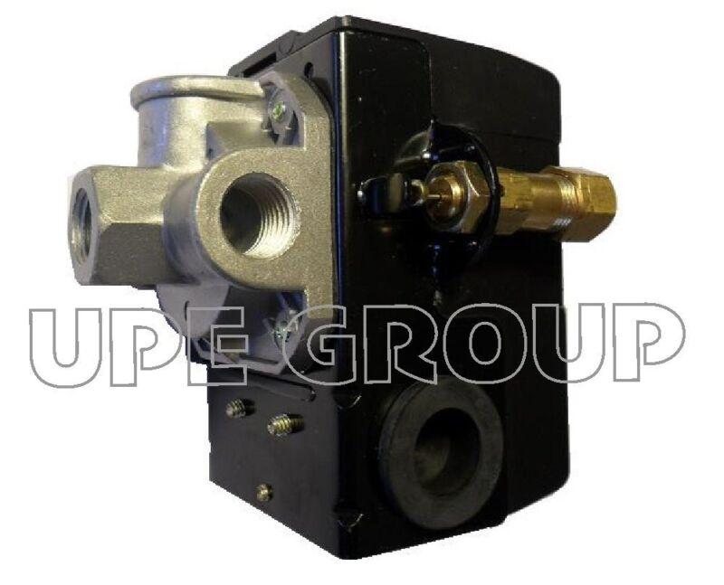 25 AMP PRESSURE CONTROL SWITCH FOR AIR COMPRESSOR  140-175  4 PORT