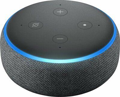 Amazon Echo Dot 3rd Generation Smart Speaker With Alexa Charcoal